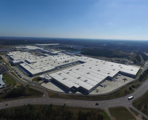 Mercedes-Benz Plant Expansion